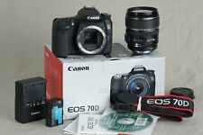 Canon EOS 70D 20.2MP Digital Camera - Black (Kit w/ EF-S 17-85mm USM Lens).