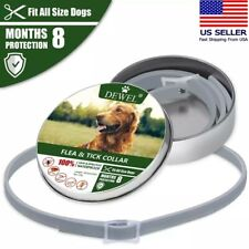 Cheaper than Seresto! Flea and tick collar for Dog 8 Months Protection
