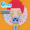 Anime Hunter×Hunter Hisoka DIY handmade Toy Keychain bag hanging Plush Doll Gift