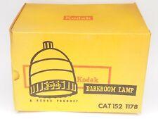 VINTAGE KODAK DARKROOM LAMP  Boxed