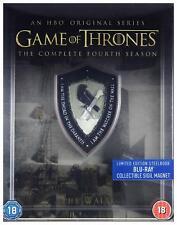 Game of Thrones - Season 4 Steelbook [Region Free] (Blu-ray)