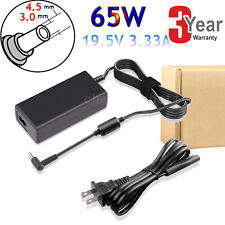65W AC Adapter Charger 19.5V 3.33A For HP Pavilion Laptop With Blue Tip