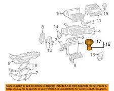 GM OEM-Blower Motor 15863480