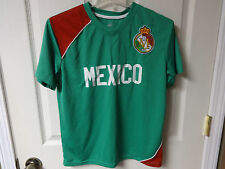 Vintage Mexico Team Soccer # 5 Jersey Size Youth Large 14/16 Sewn Logo