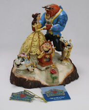 Jim Shore Tale As Old As Time 4031487 Mib Signed Beauty & Beast