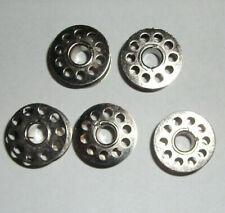 5 Aluminium Spulen Kompatibel mit Sänger 20U Riccar Nähmaschinen #55623