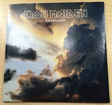 IRON MAIDEN RARE RAINMAKER PROMO SINGLE CARD EDITION CD SINGLE PROMO