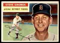 1956 TOPPS STEVE GROMEK #310 EX-MT WELL CENTERED SET BREAK BLR13N1