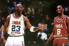 Michael Jordan & Kobe Bryant NBA All-Star Game Poster 24 x 36
