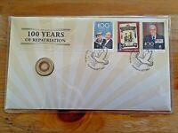 2019 $2 Bringing Them Home - A Hundred Years of Repatriation Coin & Stamp Cover