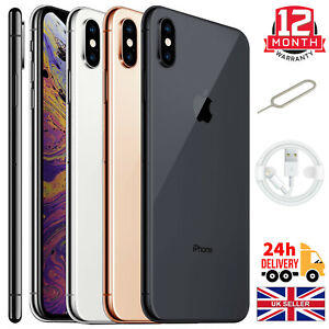 Apple iPhone XS 64GB 256GB Unlocked Smartphone All Colours Excellent Condition A