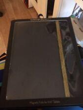 NIP Cynthia Rowley Magnetic Folio for 9-10 Inch Tablets~Black/Gold