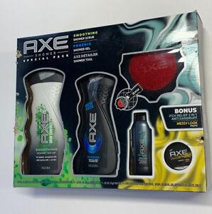 AXE 5-pc Original Holiday Gift Set (2 Shower Gels, Hair Gel, Detailer, Shampoo)
