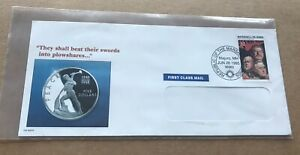 Marshall Is 1995 Event Cover +WWII Big 3 Stamp=FDR +Churchill +Stalin +Cachet