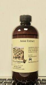 OliveNation Anise Extract, 8 Ounce 01/2024 EXPIORATION DATE FREE SHIPPING.