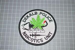 Dekalb Georgia Police Narcotics Unit Patch (B17-8)