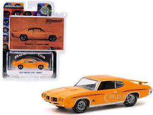 "1970 PONTIAC GTO JUDGE ORANGE ""BFGOODRICH VINTAGE AD CARS"" 1/64 GREENLIGHT 30138"