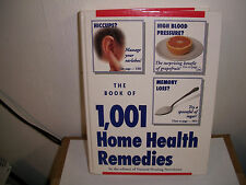 The Book of 1001 Home Health Remedies by FC and A Publishing Staff (1993, Hardco