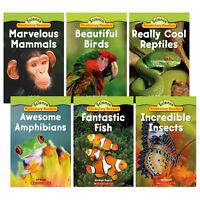 Science Vocabulary Readers Animal Groups : Birds,Reptiles,Mammals...Scholastic