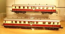PIKO Railcar VT 137 with Passenger Car VB 145 Der DRG ep.2 USED MISSING PARTS