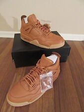 Nike Air Jordan IV 4 Retro Premium Size 11.5 Ginger Gum Yellow 819139 205 DS NIB