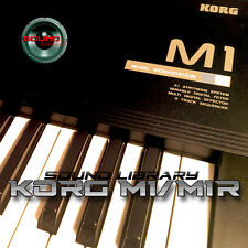 KORG M1/M1R HUGE Original Factory & New Created Sound Library/Editors on CD