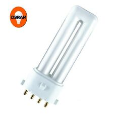 10 x Osram 7W DULUX S/E 4 broches lampe 840 (4000K) - blanc froid couleur / 840