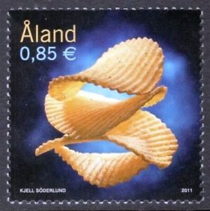 ALAND Is. SNACK FOOD POTATO CHIPS MNH issue 2011 #318 Mi 348