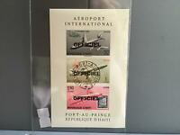 Haiti 1961 International Airport    imperf Cancelled  stamps  sheet   R26800