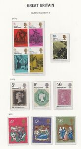 Lot:38342  GB QEII  Pre-Decimal album pages mint sets