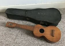Vintage Jonah Kumalae Gold Award 1915 Soprano Ukulele Made In Hawaii