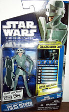 STAR WARS The Clone Wars__Mandalorian Police Officer 3.75 inch action figure_MIP