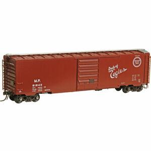 HO Scale - KADEE 6412 MISSOURI PACIFIC 50' PS-1 Boxcar 8' Door # 81840