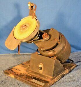 Antique C & E Marshal Watch Crystal Grinder Polisher Lapidary Machine Flat Lap