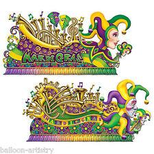 Mardi Gras Carnaval Fiesta Escena Setter Add-on Utilería Decoraciones-Parade Flotadores