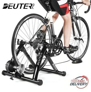 Indoor Exercise Bike Trainer 6 Speed Magnetic Resistance Bicycle Trainer MTB