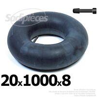 Chambre à air 20 x 1000 x 8 valve droite