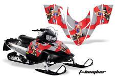 Snowmobile Graphics Kit Decal Sticker Wrap For Polaris Shift/Dragon/RMK TBOMB R