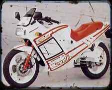 Benelli 125 Jarno 88 A4 Photo Print Motorbike Vintage Aged