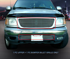 Polished Billet Grille Grill Combo For Ford F-150 F150 1999-2003