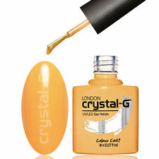 NAIL GEL POLISH by CRYSTAL-G UV LED SOAK OFF GEL COLOUR *** S22 MUSTARD MAD ***