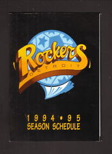 Detroit Rockers--1994-95 Pocket Schedule--Ford Lincoln Mercury--NPSL