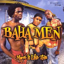 Move It Like This / Break Away Baha Men MUSIC CD