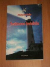 ADELAIDE GALLO-TESTIMONE INVISIBILE-ANANKE-1 ° EDIZIONE 2011