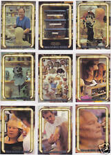 STAR TREK VOYAGER PROFILES MAKE-UP WITH MICHAEL WESTMORE INSERT SET MW1-MW9 (9)