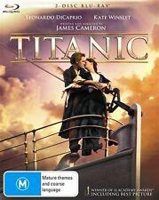 Titanic (Blu-ray, 2012, 2-Disc Set)