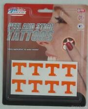 Tennessee Volunteers 24 Peel and Stick Tattoos Vols NEW