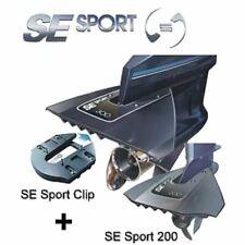 Hydrofoil SE Sport 200 schwarz mit Befestigungsclip Hydrofoil Stabilisator