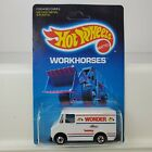 Hot Wheels 1989 #2808 DELIVERY TRUCK Wonder Bread New in Package H408 Unpunched