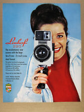 1967 Linhof 220 Camera vintage print Ad